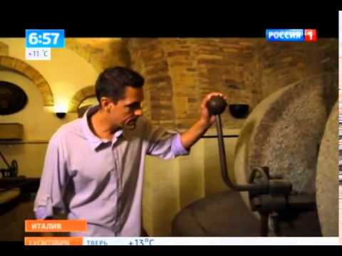 "Terre Pescaresi ""olio di oliva extravergine DOP Aprutino Pescarese"" – trasmissione televisiva ""Russian Morning"" del 13/10/2014 su Rossija 1"