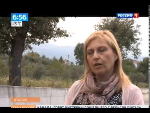 """Terre Pescaresi  """"Pani e dolci della Majella"""" – trasmissione televisiva """"Russian Morning"""" del 08/10/2014 su Rossija 1"""